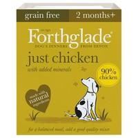 Forthglade Just Chicken Grain Free Dog Food big image