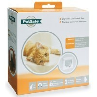 Staywell Petsafe Classic Magnetic Cat Flap 932 White big image
