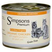 Simpsons Premium Adult Wet Cat Food (Organic Chicken with Pumpkin) big image