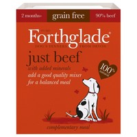 Forthglade Just Beef Grain Free Dog Food (18 x 395g) big image