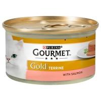 Purina Gourmet Gold Terrine Wet Cat Food (Salmon) big image