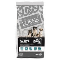 Burns Active Dog Food (Chicken & Rice) 12kg big image