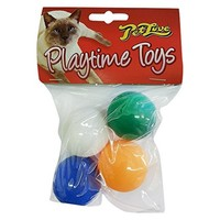 Pet Love Playtime Toys for Cats (4 Ball Pack) big image
