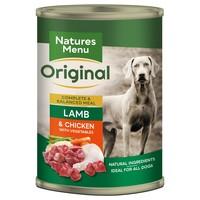 Natures Menu Original Adult Dog Food Cans (Lamb with Chicken) big image