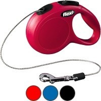Flexi New Classic Retractable 3m Cord Lead (Extra Small) big image
