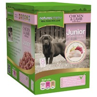 Natures Menu Junior Dog Food 8 x 300g Pouches (Chicken with Lamb) big image
