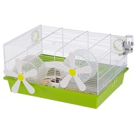 Ferplast Milos Flowers Medium Hamster Cage big image