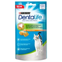 Purina Dentalife Dental Treats for Cats 40g big image