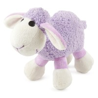 Ancol Small Bite Plush Lamb Toy (Purple) big image