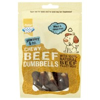 Good Boy Pawsley & Co Chewy Beef Dumbbells 100g big image