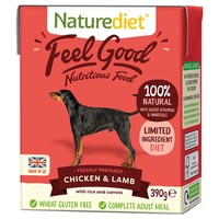 Naturediet Feel Good Wet Food for Adult Dogs (Chicken & Lamb) big image