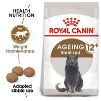 Royal Canin Ageing 12+ Sterilised Adult Cat Food 2kg big image