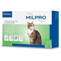 Milpro Worming Tablets for Cats big image