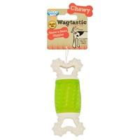 Good Boy Wagtastic Gnaw-a-Bone Giggler Dog Toy big image