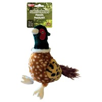 Phileas Pheasant Squeaky Soft Dog Toy big image