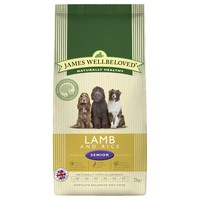 James Wellbeloved Senior Dog Dry Food (Lamb & Rice) big image