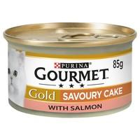Purina Gourmet Gold Savoury Cake Adult Wet Cat Food Tins (12 x 85g) big image