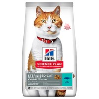 Hills Science Plan Sterilised Young Adult Dry Cat Food (Tuna) big image
