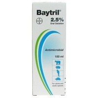 Baytril 2.5% Oral Solution 100ml big image