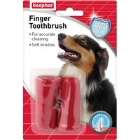 Beaphar Finger Toothbrush 2 Pack big image