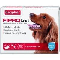 Beaphar FIPROtec Spot-On Solution for Medium Dogs big image