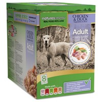 Natures Menu Adult Dog Food 8 x 300g Pouches (Chicken and Duck) big image