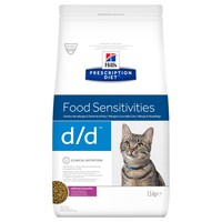 Hills Prescription Diet DD Dry Food for Cats (Duck) 1.5kg big image