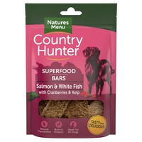 Natures Menu Country Hunter Superfood Bars (Salmon & Whitefish with Cranberries & Kelp) big image