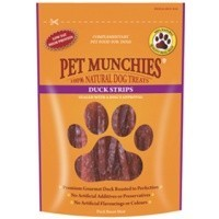 Pet Munchies Duck Strips Treats for Dogs big image