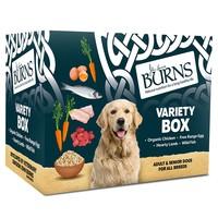 Burns Wet Dog Food Pouches (Variety Box) big image