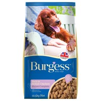Burgess Mature Dog Food 12.5kg (Chicken) big image
