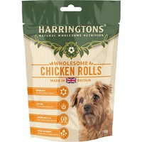 Harringtons Chicken Rolls Treats for Dogs 100g big image