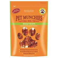 Pet Munchies Duck Twists for Dogs 80g big image