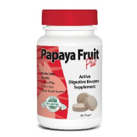 Oxbow Papaya Fruit Plus Supplement for Small Animals(90 Tablets) big image