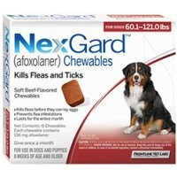 Nexgard for Extra Large Dogs 136mg (6 Pack) big image