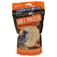 Unipet Suet To Go Suet Pellets for Birds (Mealworm) big image
