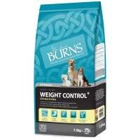 Burns Weight Control Dog Food (Chicken & Oats) big image