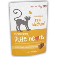 Vet's Kitchen Little Hearts Cat Treats 60g (Chicken) big image