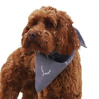 Rosewood Wolf and Tiger Antler Hygge Bandana for Dogs big image