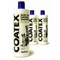 Coatex Aloe and Oatmeal Shampoo 500ml Bottle big image