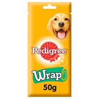 Pedigree Wrap Dog Treats with Chicken 50g big image