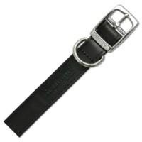 Ancol Heritage Dog Collar Hand Sewn Black Leather big image