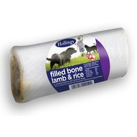 Hollings Filled Bone Dog Treat - Lamb & Rice big image