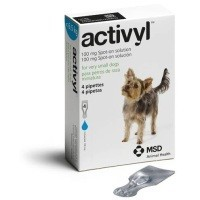 Activyl Spot-On Solution for Toy Dogs (4 x 100mg Pipettes) big image
