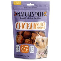 Natures Deli Chicken and Rice Meatball 100g big image
