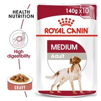 Royal Canin Medium Adult Wet Dog Food in Gravy big image
