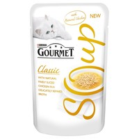 Purina Gourmet Soup with Sliced Chicken Pouches (32 x 40g) big image