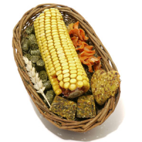 Boredom Breaker Naturals Willow Treat Basket big image