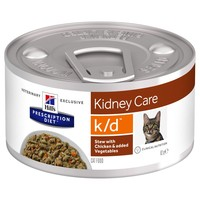 Hills Prescription Diet KD Tins for Cats (Stew with Chicken & Vegetables) big image