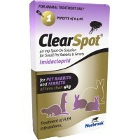 ClearSpot Spot-On Solution for Small Rabbits and Ferrets (Single Pipette) big image
